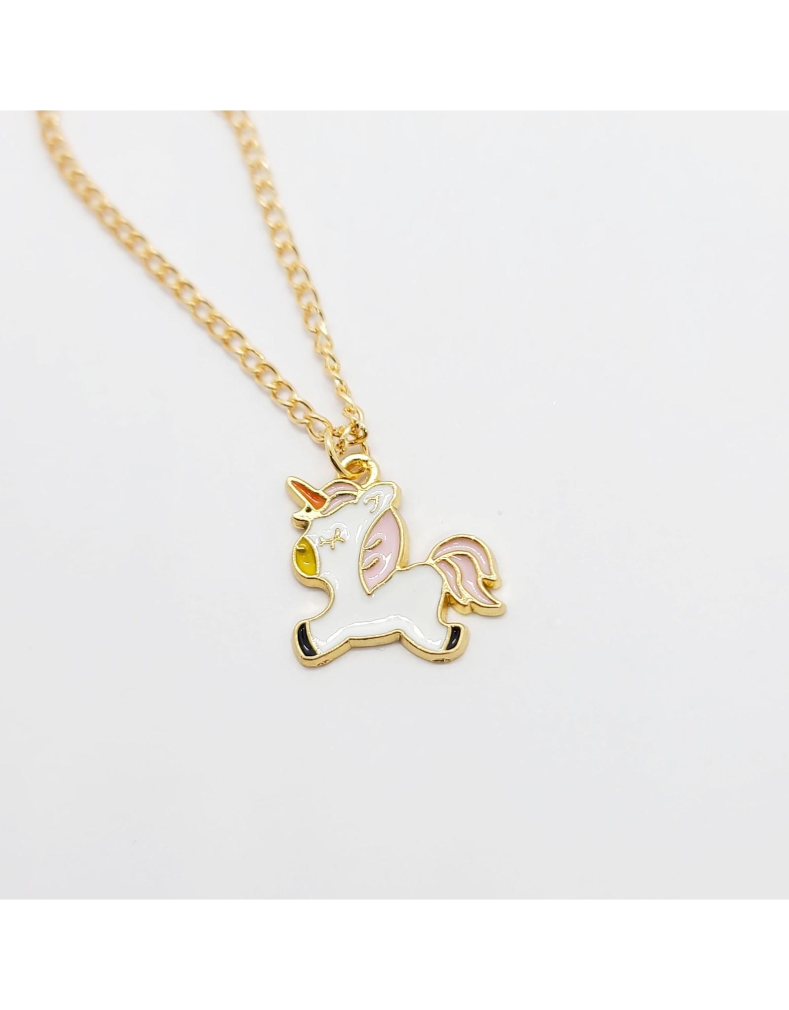Rainbow Unicorn Necklace