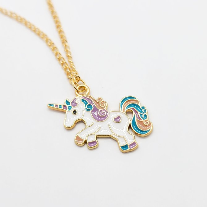 La Licornerie Rainbow Unicorn Necklace