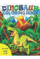 Livre a colorier 4-8 ans Dinosaures