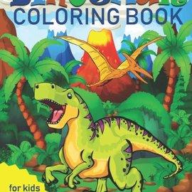 La Licornerie Livre a colorier 4-8 ans Dinosaures