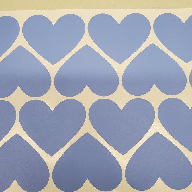 La Licornerie Coeurs appliqués muraux (34 coeurs)