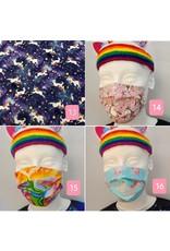 ♥♥ Masques de prévention licornesques et fantastiques