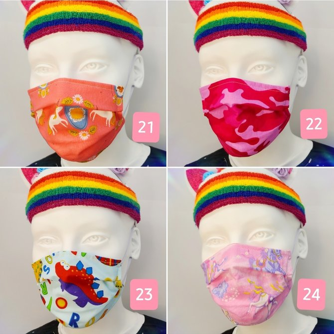 La Licornerie Prevention masks unicorns and fantasy