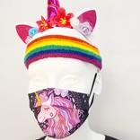 Adorable Orange Prevention masks unicorns and fantasy