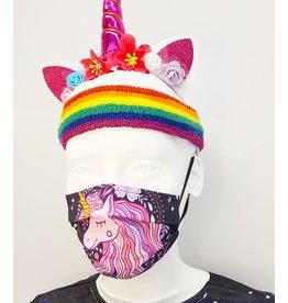 Unicorns and Fantasy Prevention Face Masks