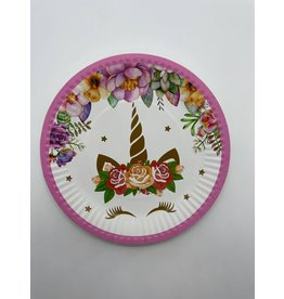 Unicorn Carton Small Plates (10 pieces)