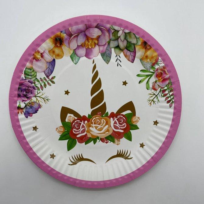 La Licornerie Unicorn Carton Small Plates (10 pieces)