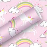 La Licornerie Rouleau de papier d'emballage Licornes