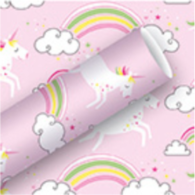 La Licornerie Unicorns Wrapping Paper Roll