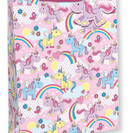 Unicorn and Rainbow Gift Bag (small)