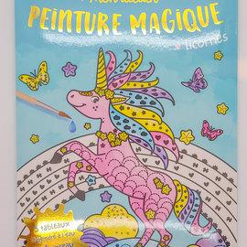 La Licornerie Mon atelier peinture magique - Coloring Book