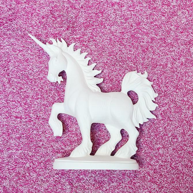 Atelier sans (100) façons de dire je t'aime ♥♥ Standing Unicorn Ceramics