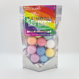 La Licornerie Mini rainbow bath bombs package