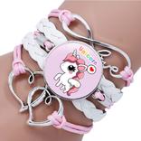 La Licornerie Braided Unicorn Bracelet