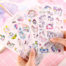 Unicorn sticker sheet