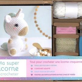 La Licornerie Ensemble de crochet Ma super licorne a crocheter