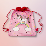 La Licornerie Star-studded Unicorn Cord Bag