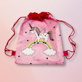 Star-studded Unicorn Cord Bag
