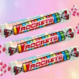 La Licornerie Bonbons Rockets rouleau unitaire
