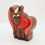 La Licornerie Belgian milk chocolate Unicorn and Heart