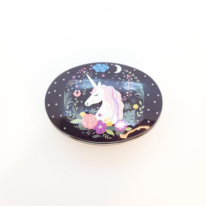 La Licornerie Oval Metal Case, 12 Unicornesque Options