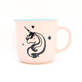 Unicorn Stars Pink Cup