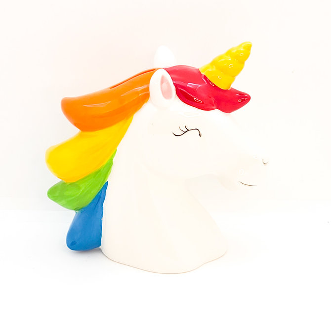 La Licornerie Rainbow Unicorn Piggy Bank