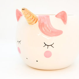 La Licornerie Sleepy unicorn Plant pot  - mug