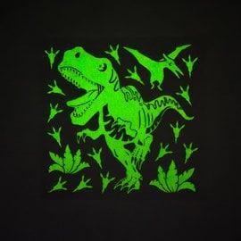Décalque Dinosaures collants muraux qui brillent dans le noir
