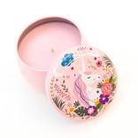 La Licornerie ♥♥ Chandelle sucrée au soja dans un boitier licornesque