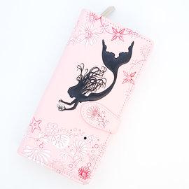 La Licornerie Pink Mermaid Leather Wallet