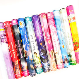 Incense Sticks, Twelve Fragrances!