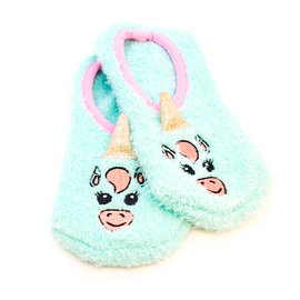 La Licornerie Socks or Slippers Made of Turquoise Unicorn Hair