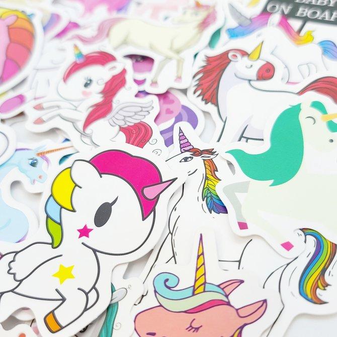La Licornerie Unicorn Stickers Pack
