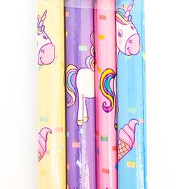 La Licornerie Set of 4 unicorn wooden pencils
