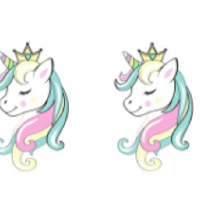 La Licornerie Lovely Unicorn Earrings