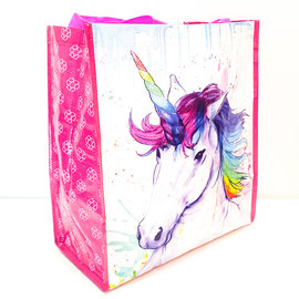 Watercolor Unicorn Reusable Bag