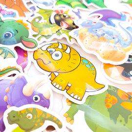 La Licornerie 50 Dinosaur Stickers