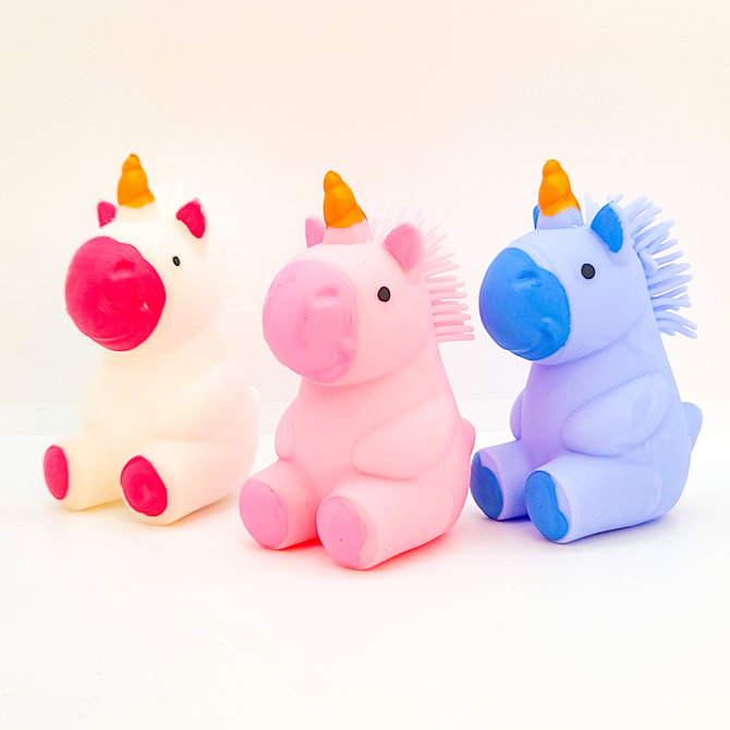 Bright unicorn toy