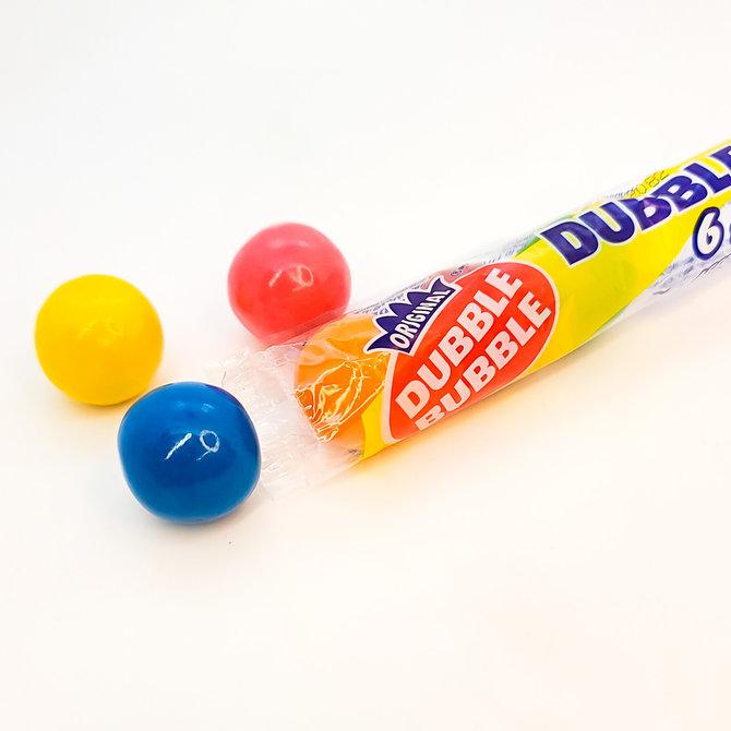 Pack of 6 Dubble Bubble Gums