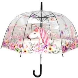Flower and unicorn umbrella