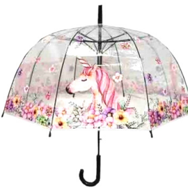 Parapluie Licorne fleurie