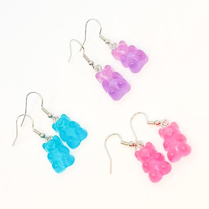 La Licornerie Gummy bear earrings