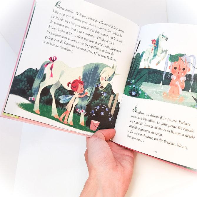 La Licornerie ♥♥ Livre Histoires à lire avec papa et maman - Fées et licornes