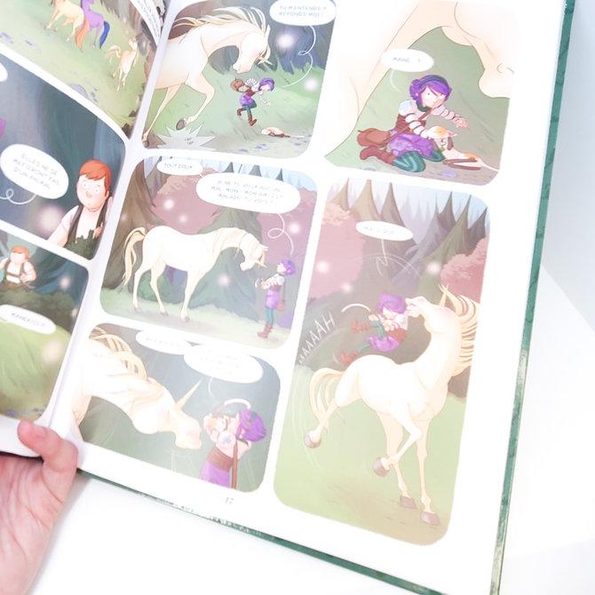 La Licornerie ♥ Enola #2: La licorne qui dépassait les bornes Comic Book