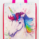 La Licornerie Unicorn or Mermaid Watercolor Reusable bag