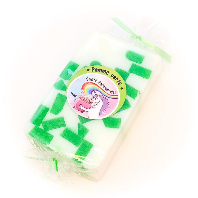 La Licornerie ♥♥ Rainbow Sparks Goat Milk and Glycerin Soap