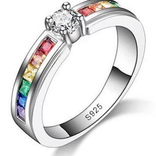 La Licornerie Rainbow crystal ring