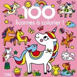 Livre 100 Licornes à colorier