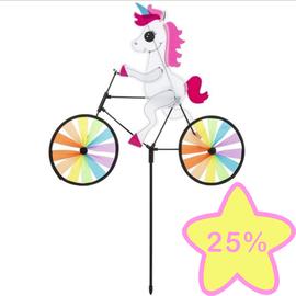 La Licornerie Vélo arc en ciel licornesque pour gazon